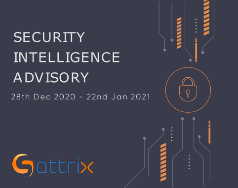 Vulnerability Research Advisory 28th Dec to 22nd Jan